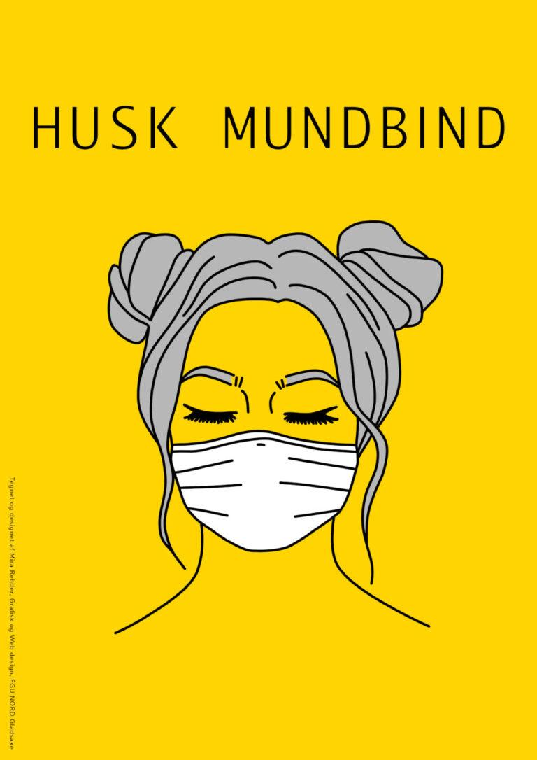 Plakat tegnet og designet af Mira Rehder